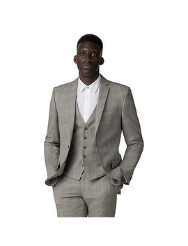 Champagne Check Tailored Suit by Racing Green