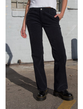 Janet Corduroy Pants by Brandy Melville