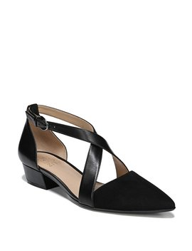 Blakely Leather Block Heel Dress Sandals by Naturalizer