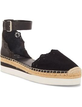 Breshan Ankle Strap Espadrille Wedge by Vince Camuto