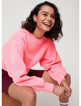 Perkins Sweatshirt   Cropped Dolman Sweatshirt by Tna