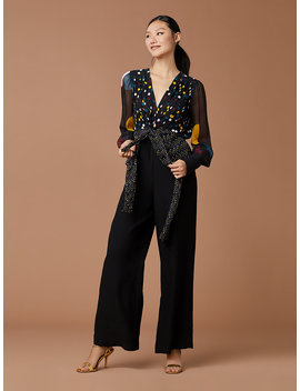 Sophie Dot Jumpsuit by Dvf