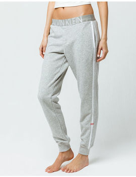 Calvin Klein Lounge Heather Gray Womens Jogger Pants by Calvin Klein