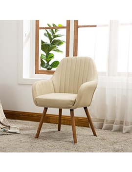 Roundhill Furniture Ac151 Ta Tuchico Contemporary Fabric Accent Chair, Tan by Roundhill Furniture