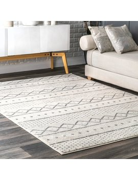 Nu Loom Contemporary Vintage Faded Aztec Milo Geo Print Area Rug by Nuloom