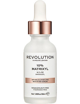 Online Only Wrinkle & Fine Line Reducing Serum   10% Matrixyl by Revolution Skincare