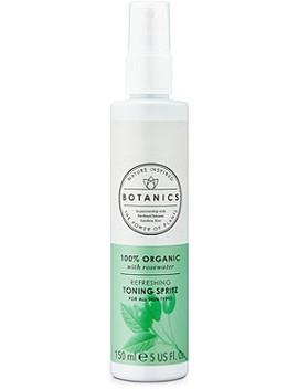 100 Percents Organic Refreshing Toning Spritz by Botanics
