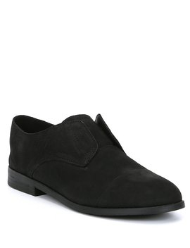 Frida Nubuck Leather Oxfords by Eileen Fisher