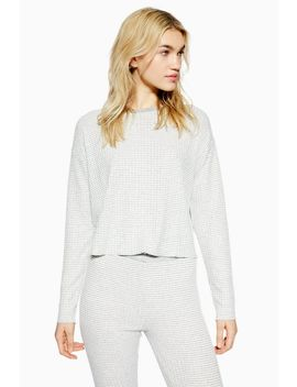 Brushed Soft Stripe Sweatshirt by Topshop