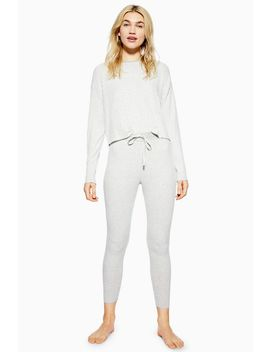 Brushed Soft Stripe Lounge Joggers by Topshop