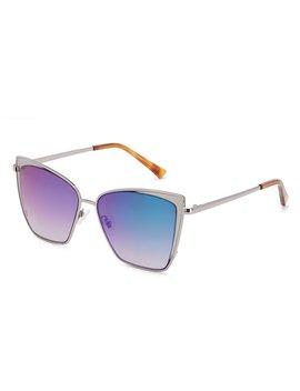 Becky Polarized Gradient Cat Eye Sunglasses by Diff Eyewear