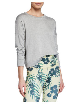 Beyond Yoga Color Streak Long Sleeve Cropped Pullover by Beyond Yoga