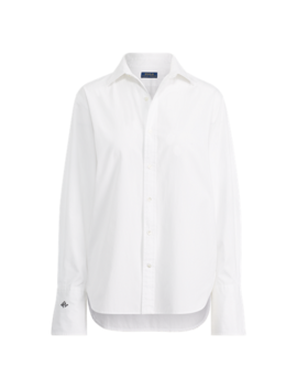 Monogram Sleeve Button Down by Ralph Lauren