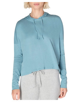 Beyond Yoga Time Out Slashed Long Sleeve Cropped Pullover by Beyond Yoga