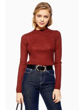 **50 Percents Recycled Knitted Jumper By Selected Femme by Topshop