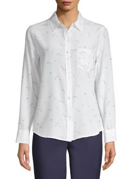 Kate Shooting Stars Button Down Shirt by Rails