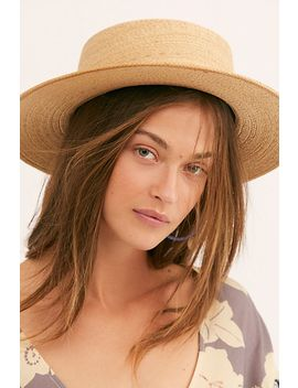 Playa Straw Boater Hat by Free People