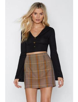 Stop Right There Ribbed Crop Top by Nasty Gal