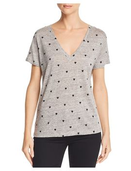Cara Printed Tee by Rails