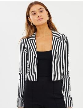 Alizia Stripe Jacket by Dazie