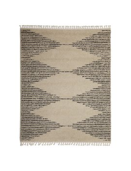 Mo Drn Scandinavian Linear Triangles Area Rug by Mo Drn
