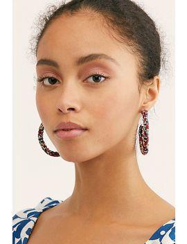 Sprinkle Of Love Beaded Earrings by Free People