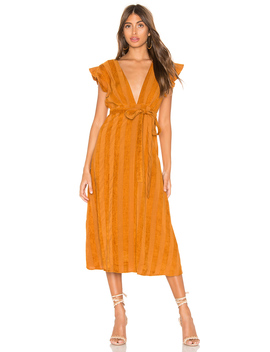 Brynn Deep Plunge Dress by Line & Dot
