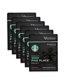 Starbucks® Verismo™ 72 Count Decaf Pike's Place® Brewed Coffee Pods by Bed Bath And Beyond