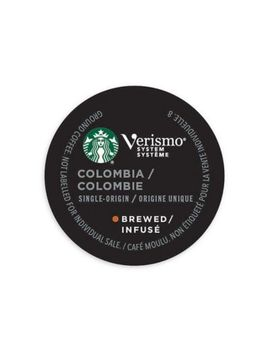 Starbucks® Verismo™ 12 Count Colombia Single Origin Brewed Coffee Pods by Bed Bath And Beyond