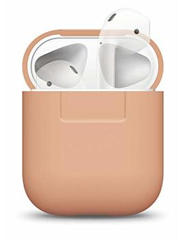 Elago Silicone Cover Compatible With Apple Air Pods Charging Case   [Extra Protection] [Perfect Fit] [Slim And Lightweight]   Peach by Elago