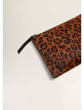 leopard-leather-cosmetic-bag by mango