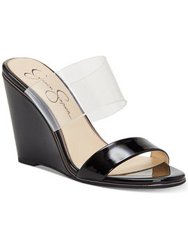 Winsty Wedge Sandals by Jessica Simpson