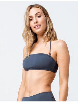 O'neill Salt Water Solid Bandeau Bikini Top by O'neill