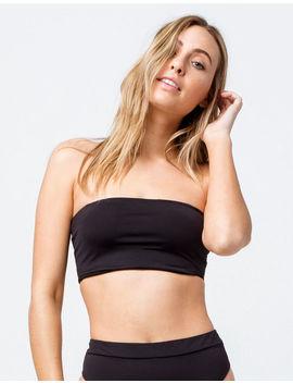 Billabong Sol Searcher Sunny Tube Black Bandeau Bikini Top by Billabong