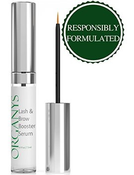 Organys Lash & Brow Booster Serum Gives You Longer Fuller Thicker Looking Eyelashes & Eyebrows 100 Percents Yours. Best Seller Conditioner Enhances The Appearance Of Natural Lush Eyelash Growth & Regrowth by Organys