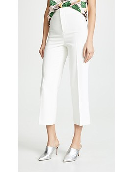 Lorinda Super High Waisted Crop Pants by Alice + Olivia