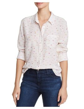 Kate Printed Silk Shirt by Rails