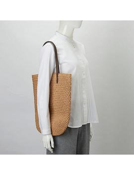 Women Crochet Tote Bag (Ines De La Fressange) by Uniqlo