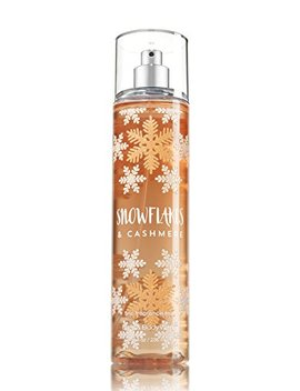 Bath And Body Works Cashmere Snowflakes Fine Fragrance Mist 8 Ounce Full Size by Bath & Body Works