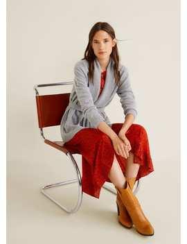 100 Percents Cashmere Cardigan by Mango