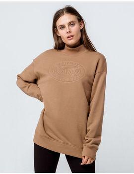 Vans Junction Mock Neck Womens Sweatshirt by Vans