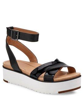 Ugg® Carine Banded Leather Sandals by Ugg