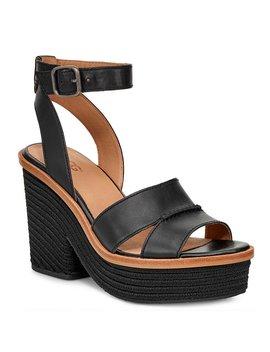 ugg-carine-banded-leather-sandals by ugg