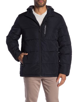 Quilted Hooded Parka by Nautica