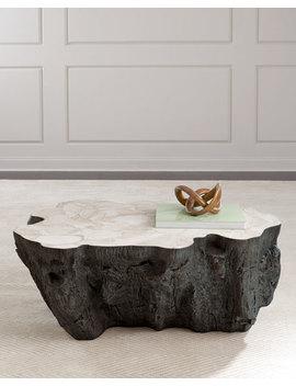 Palecek Ursula Fossil Coffee Table by Palecek
