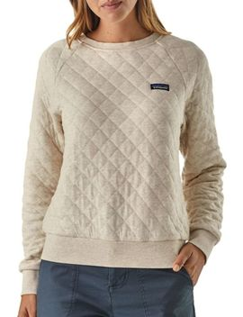 Patagonia Women's Cotton Quilt Crew Pullover by Patagonia