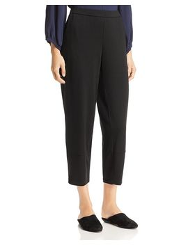 Lantern Ankle Pants by Eileen Fisher Petites