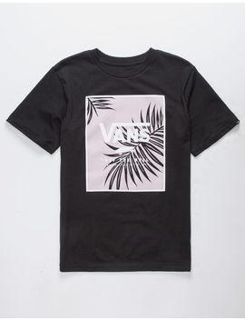 Vans Palm Leaf Print Box Boys T Shirt by Vans