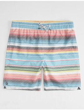 Micros Blanket Stripe Boys Boardshorts by Micros