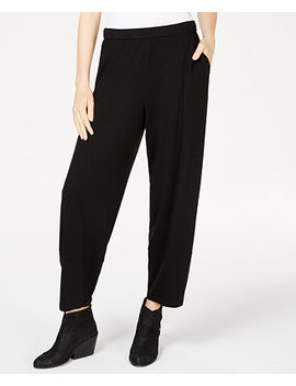 Lantern Ankle Pants, Regular & Petite by Eileen Fisher